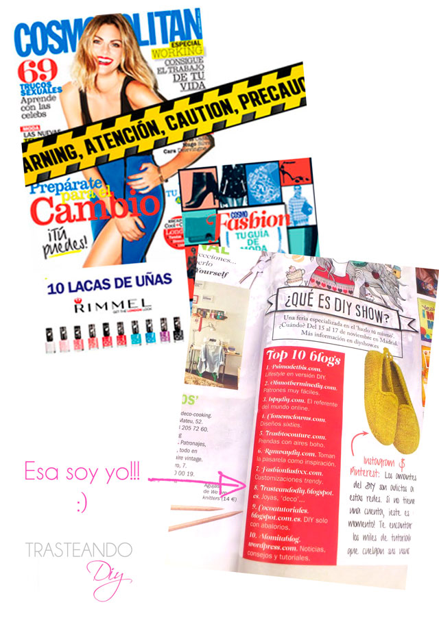 COSMOPOLITAN REVISTA DIY BLOGS CRAFT TOP LISTA