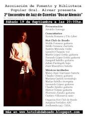 """3° Encuentro de Jazz de Cuerdas """"Oscar Alemán"""""""