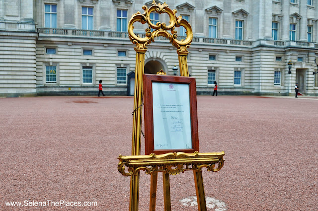 Royal Baby Announcement at Buckingham Palace