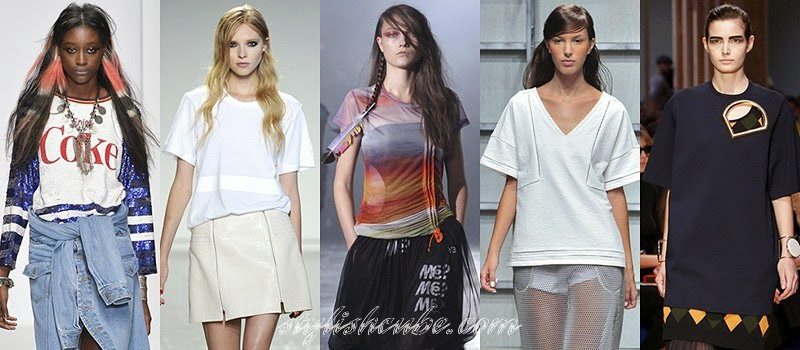 Summer 2014 Women's T-shirts Fashion Trends