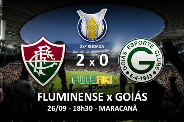 Veja o resumo da partida com os gols e os melhores momentos de Fluminense 2x0 Goiás pela 28ª rodada do Brasileirão 2015.
