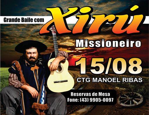 XIRU MISSIONEIRO EM MANOEL RIBAS
