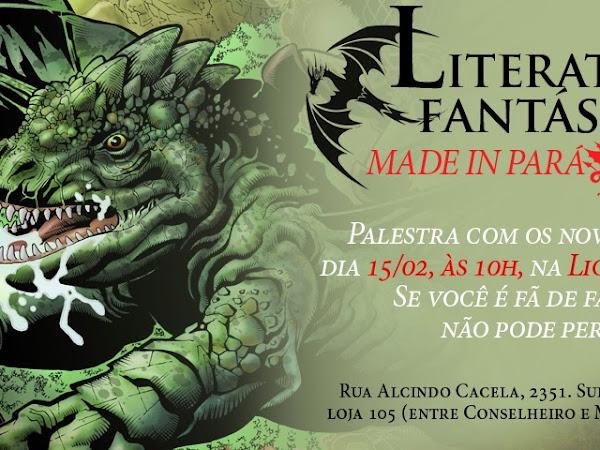 Evento em Belém: Literatura Fantástica Made in Pará com Roberta Spindler, Lucas Moraga e Igor Quadros