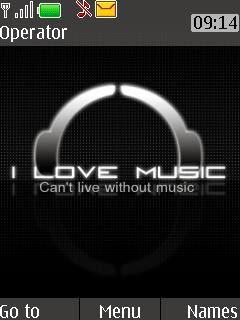 Tema Nokia Flash  ilove music
