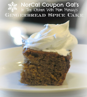 In The Kitchen With Mom Monday: Gingerbread spice cake