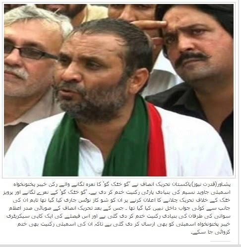 Javed Naseem PTI