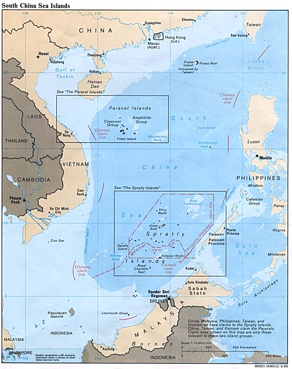 WORLD DEFENSE REVIEW PLA Paper Warns Of Naval Conflict - Map of us allies in the asia pacific
