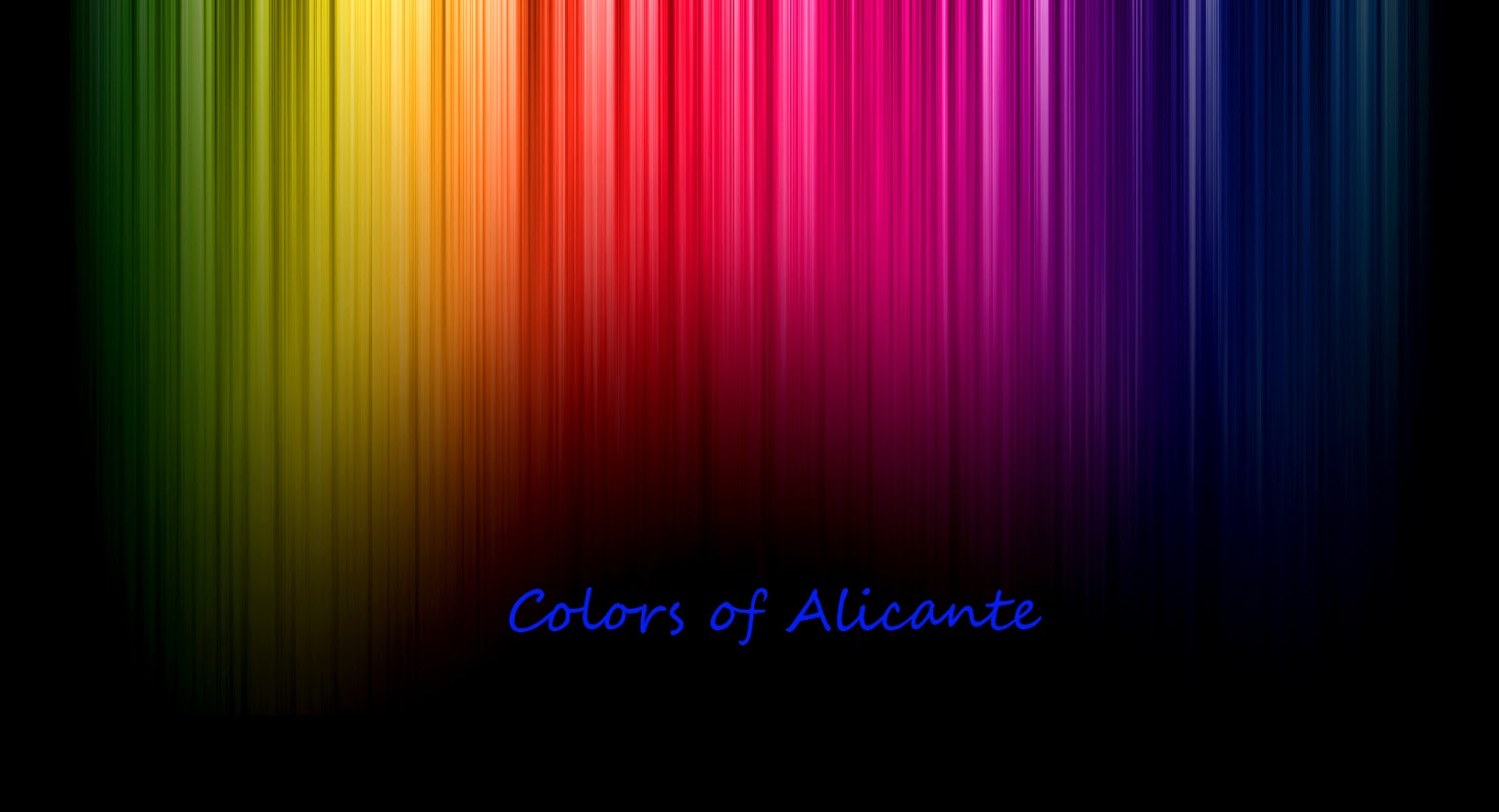 Colors of Alicante