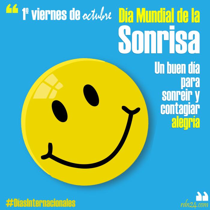 1º viernes de octubre – Día Mundial de la Sonrisa #DíasInternacionales