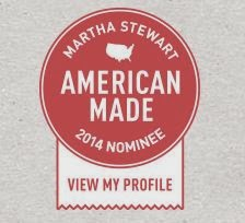 Thanks to all of you, for making this possible -American Made Judges Nominee
