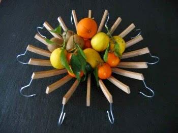 porta frutta grucce