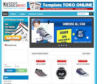 Masgusmarket blogger template