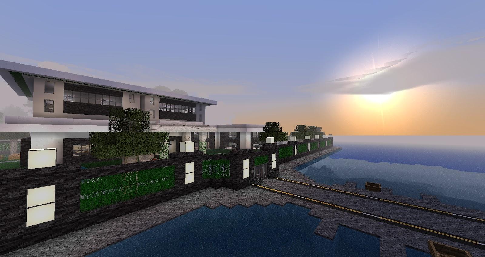 My minecraft constructions minecraft modern house - Minecraft modern ...