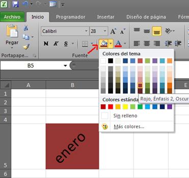 Ideas de Excel: Estilo de Relleno Diagonal