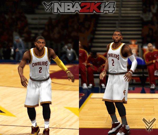 NBA 2k14 Ultimate Roster Update v7.10 : August 31st, 2016 - New color combinations for Cavaliers