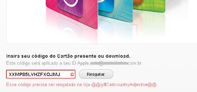 Erro de sessão na loja iTunes EUA