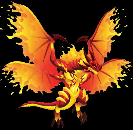 imagen del fire extreme dragon en social empires