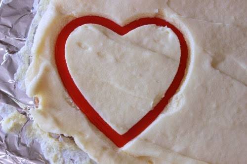 Cheesecake Hearts from www.summerscraps.com #Valentine