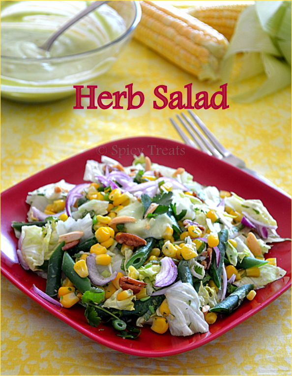 Herb salad  – For Gourmet Seven