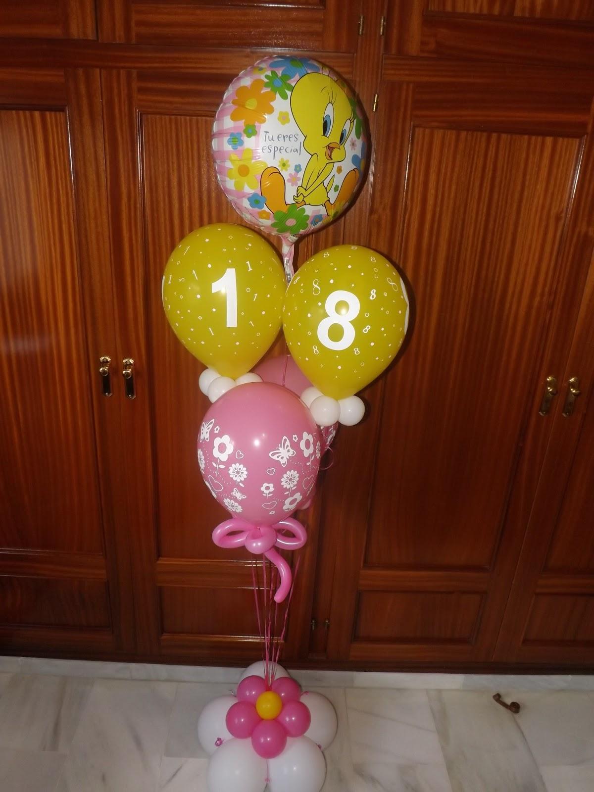 Decoraciones d 39 globos bouquets 18 30 48 cumplea os d - Decoracion 30 cumpleanos ...