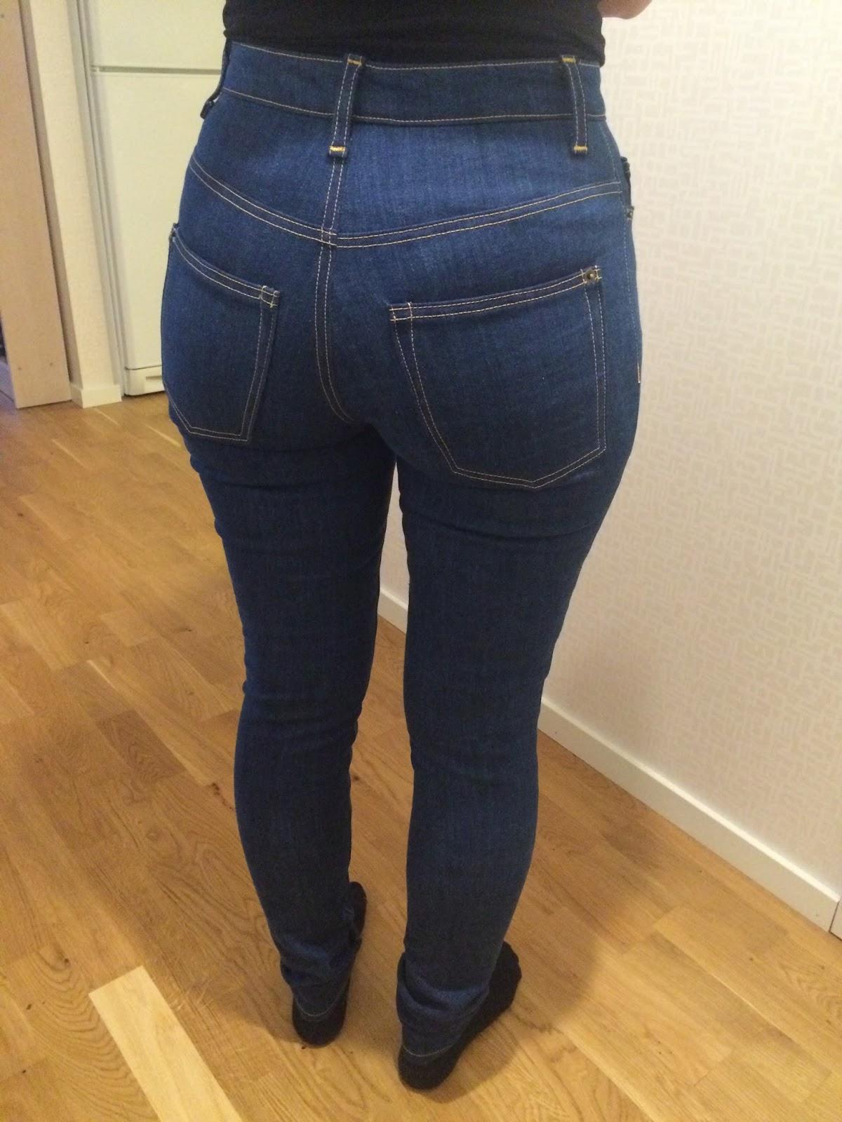 jeans töjer sig
