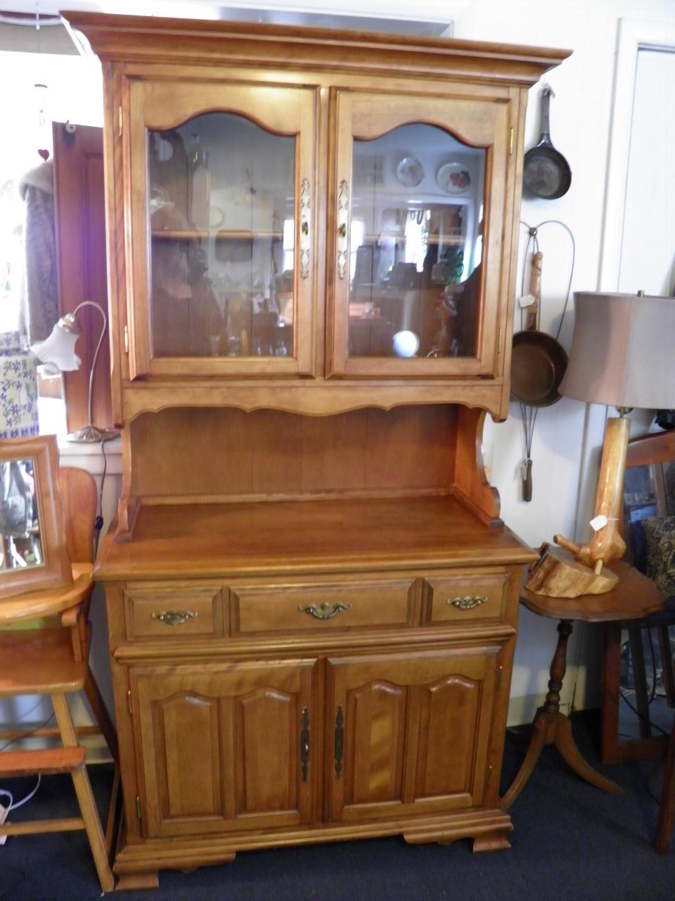 Vintage maple Cabinet 275.00