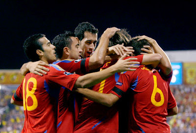 Spain says OLE! and defeats Italy 4-0 Euro 2012