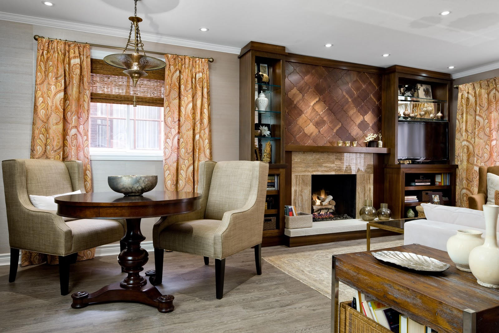 Living room decorating ideas feature wall living room - Candice olson fireplaces ...