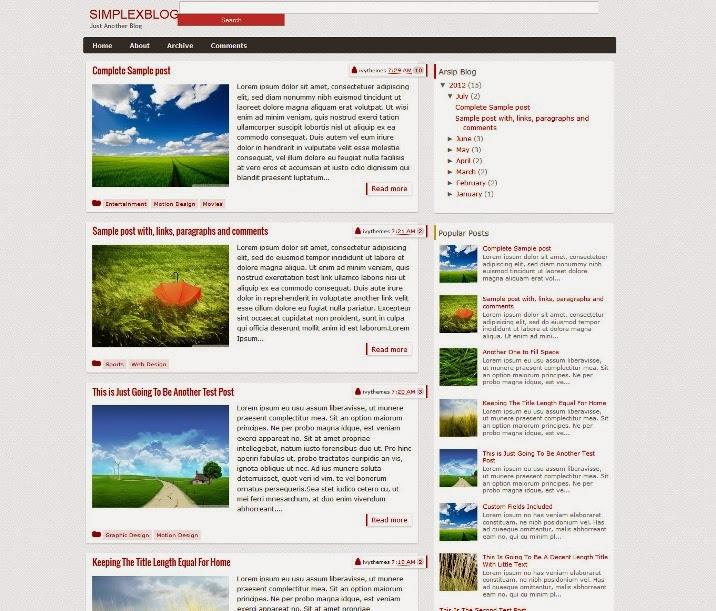 SimplexBlog
