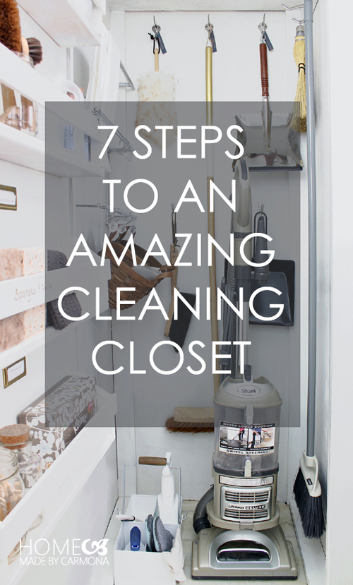 Iheart organizing uheart organizing 7 steps to an for How to clean and organize your closet