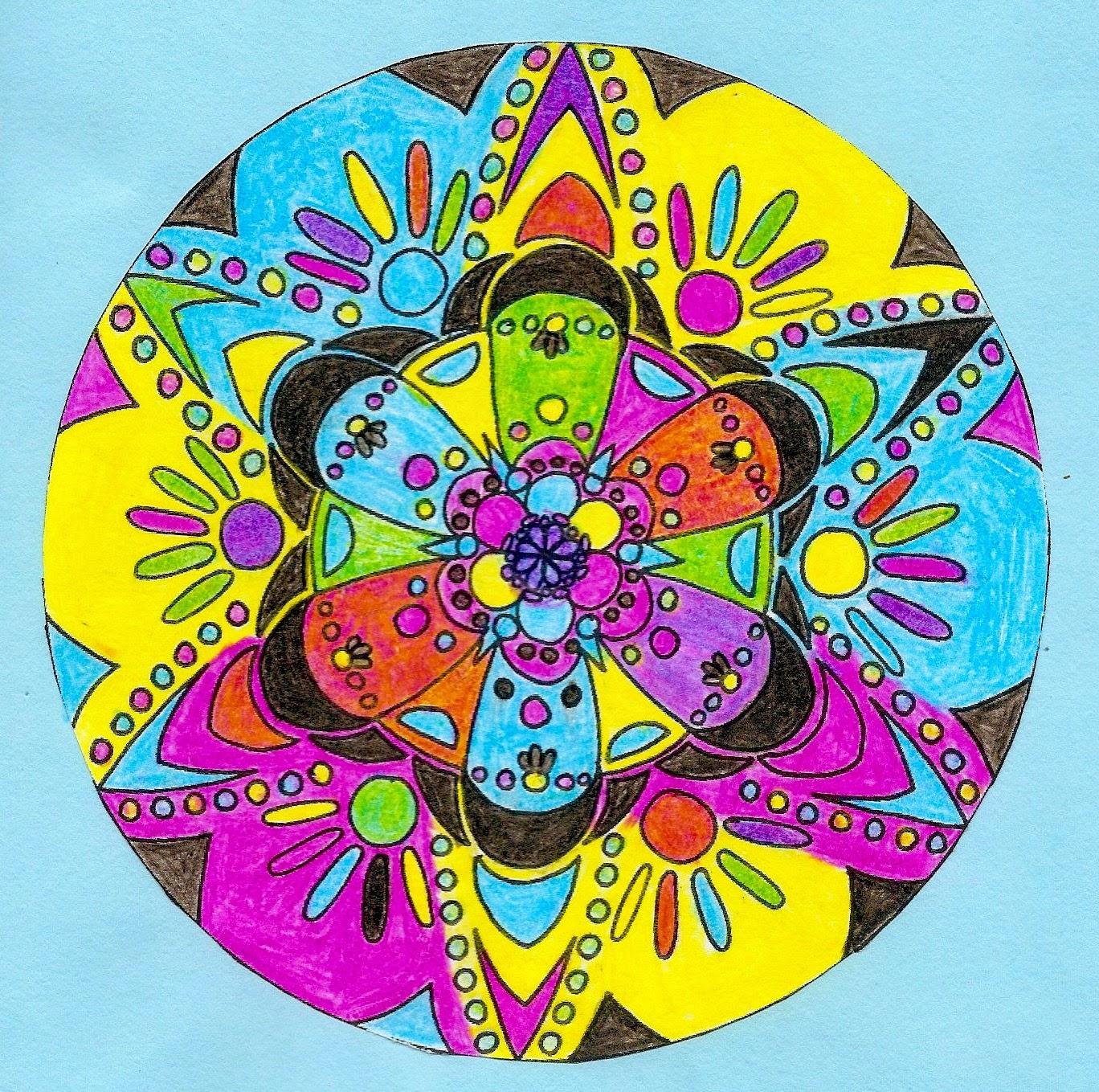 M ndalas de colores primarios 1 eso - Colores para mandalas ...