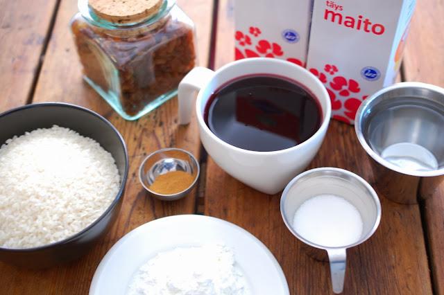 riisipuuron tekeminen