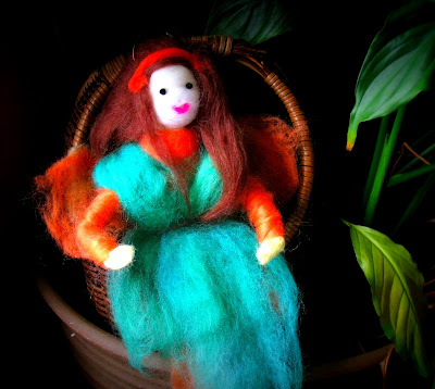Needle and Wet Felted Fairies (Waldorf-style)