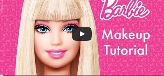 Barbie Makeup Tutorial for Children & Teenagers