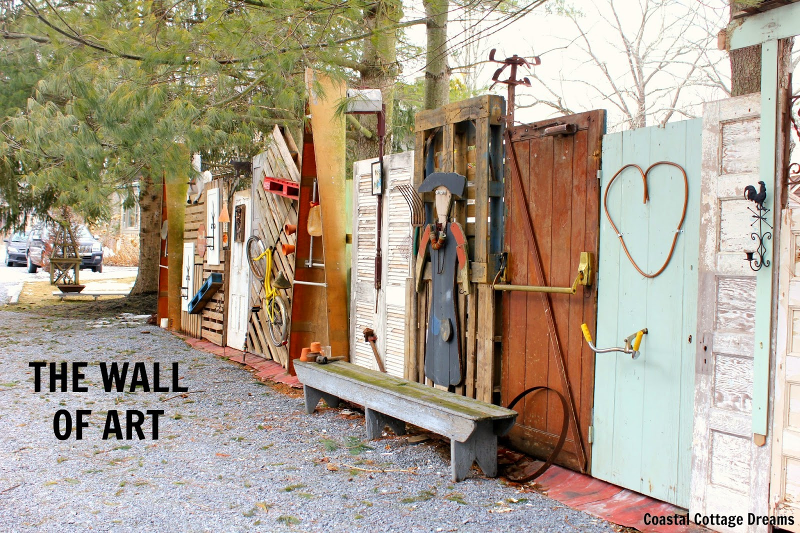 Upcycled Wall Art Sunflowers With Smiles The Wall Of Art Diy Upcycled Fence