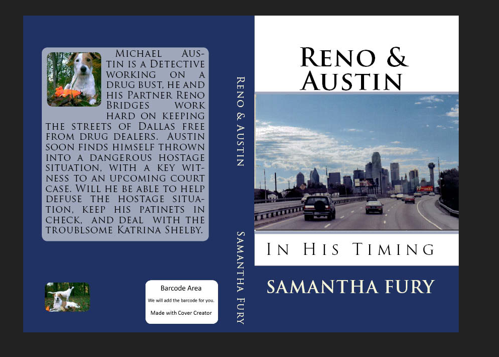 Samantha furys land of writing making a book cover with if you are happy with your cover you just follow the step by step instructions to submit this cover for your paperback book pronofoot35fo Images