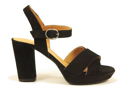 sandalia de sport negro