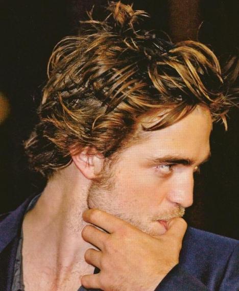 Twilight Edward gave us many, many sex-hair pics, and life was good.
