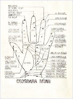 Chiromanție mână