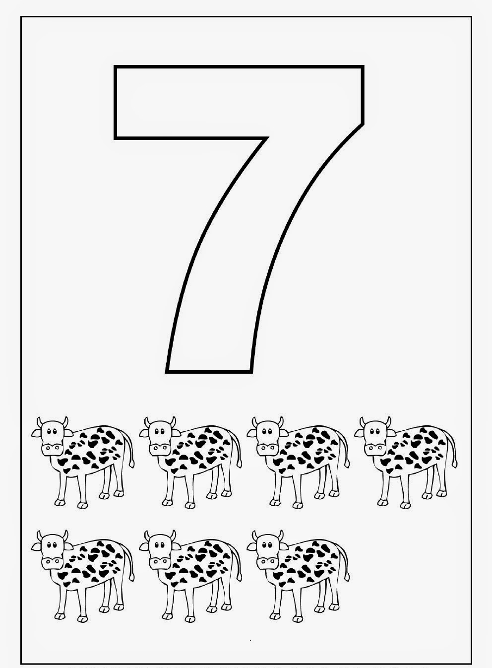 Number 7 Tracing Worksheets Worksheet Pages – Number 7 Worksheet