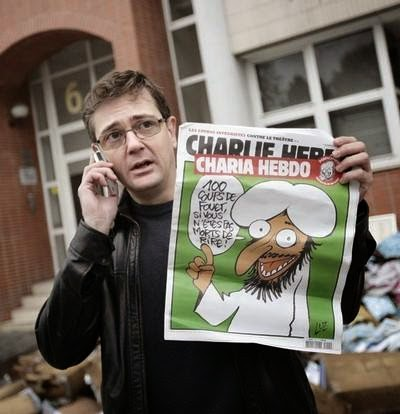 Charlie Hebdo berulah lagi dengan membuat kartun menghina Nabi Muhammad SAW
