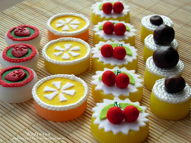 Как сделать пироженное