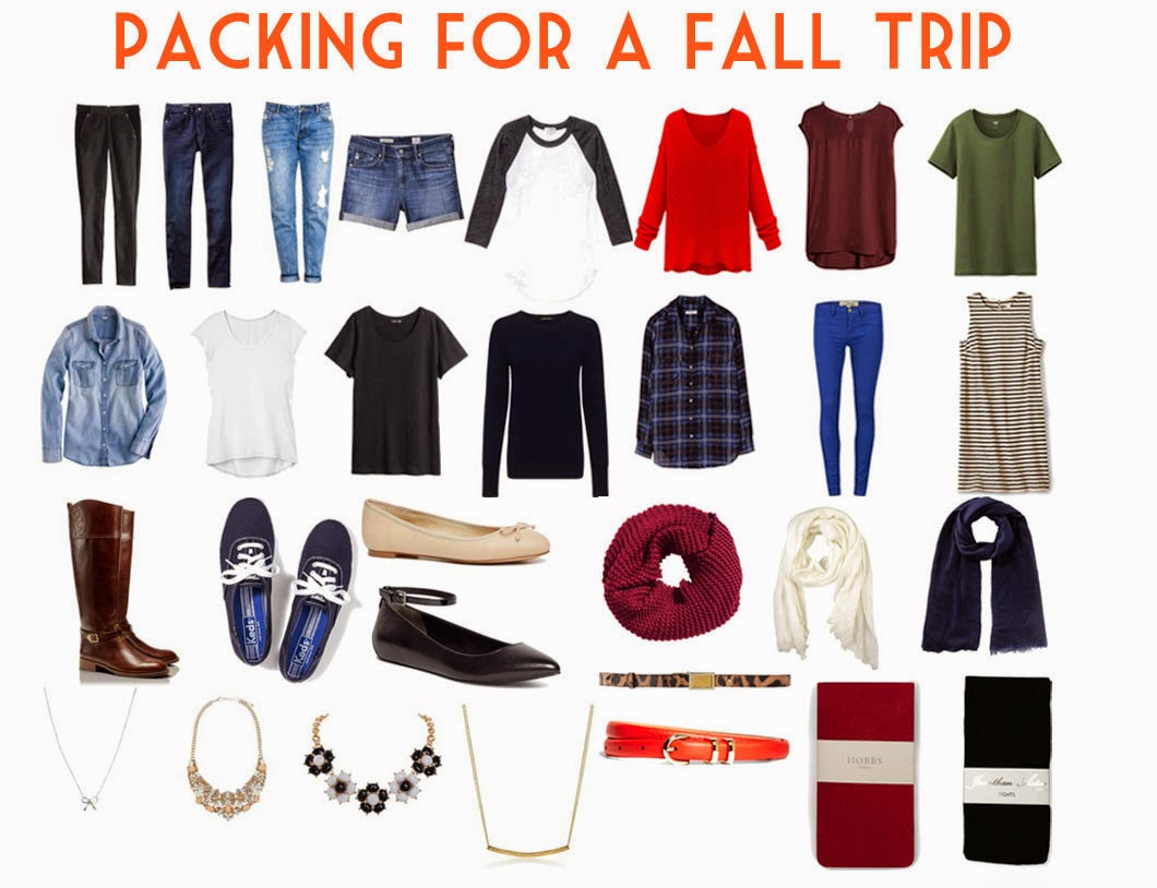 Packing Tips And Tricks for a Fall Trip: What to Pack