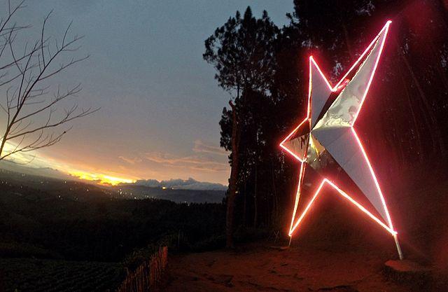 wisata alam puncak bintang bandung