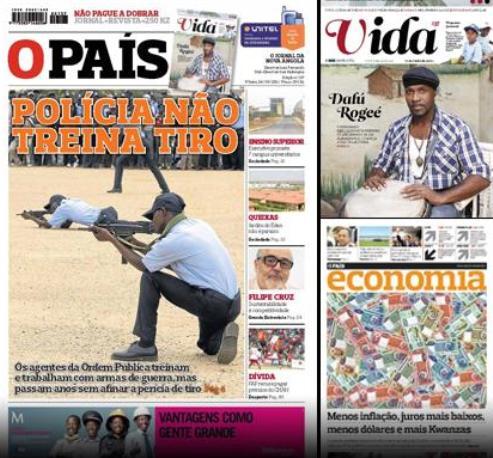 Angola: OS NOSSOS POLÍCIAS NÃO SABEM DAR TIROS