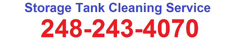 Storage Tank Cleaning Service