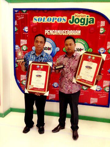 Indovision Mendapatkan Penghargaan SBBI dan JBBI 2015