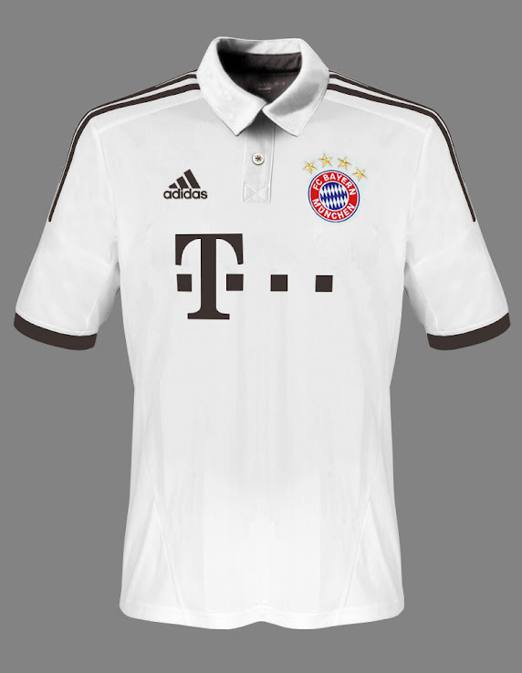 Maillot saison 2013 - 2014 Bayern-13-14-Away-Kit-Design