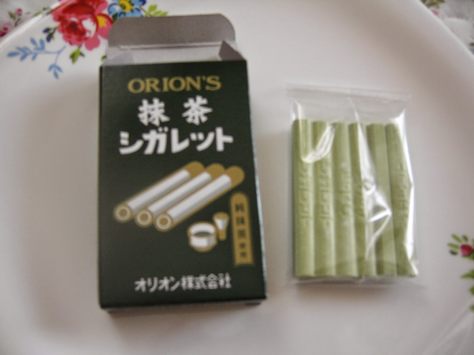 how to make green tea cigarettes