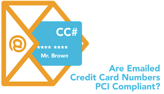 Is it safe to email credit card information
